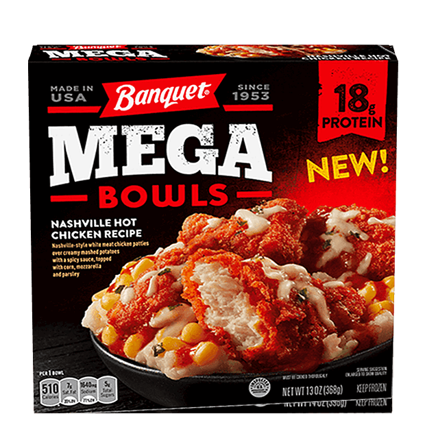 Banquet Mega Bowl – Nashville Hot Chicken