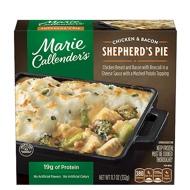 Marie Callender's Cheesy Chicken and Bacon Shepherd's Pie