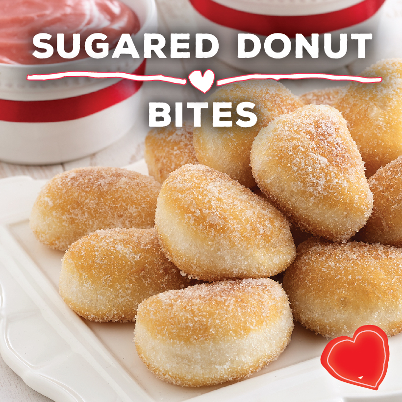 Sugared Donut Bites