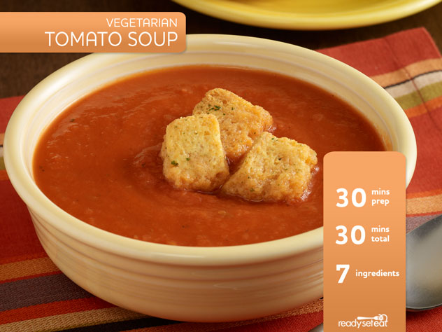 Vegetarian Tomato Soup Recipe for Fall