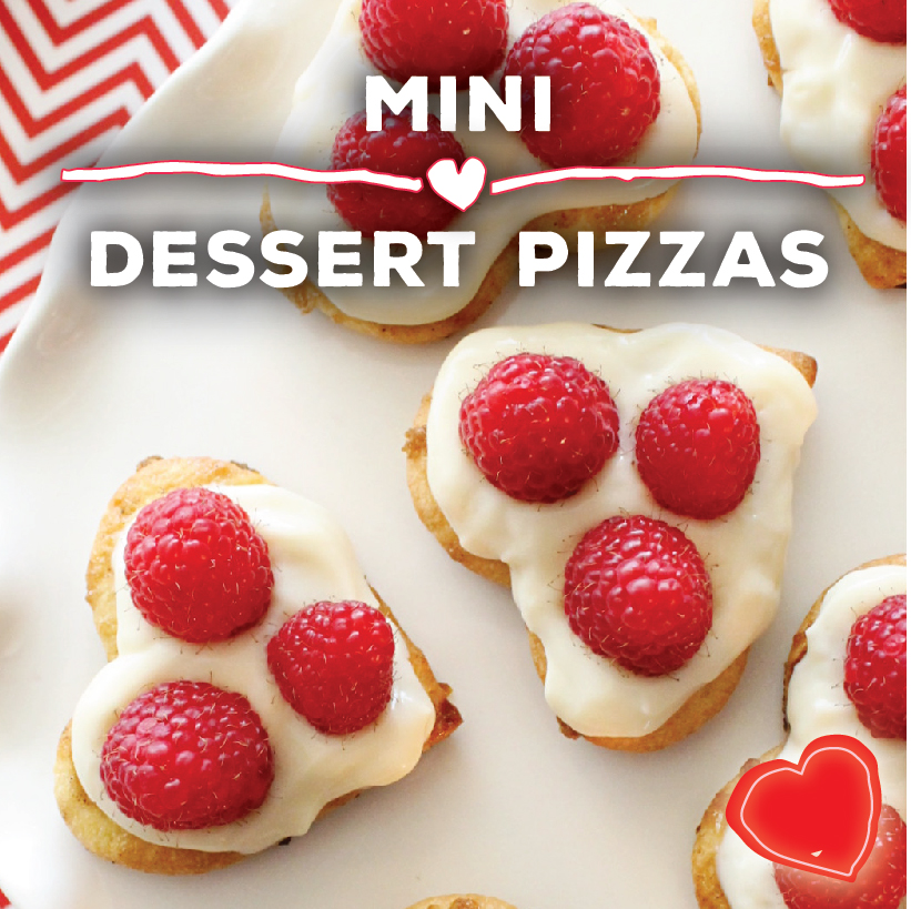 Mini Dessert Pizzas