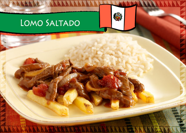 Lomo Saltado Hispanic Recipe