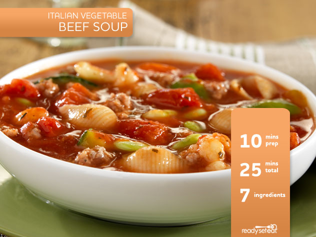 Italian Vegetable Beef Soup Recipe for Fall