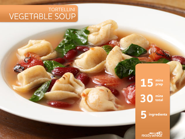 Tortellini Vegetable Soup Recipe for Fall