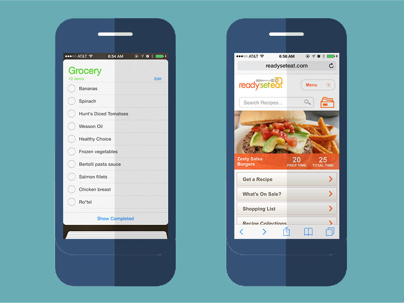 how to  use mobile apps to save money at the grocery store