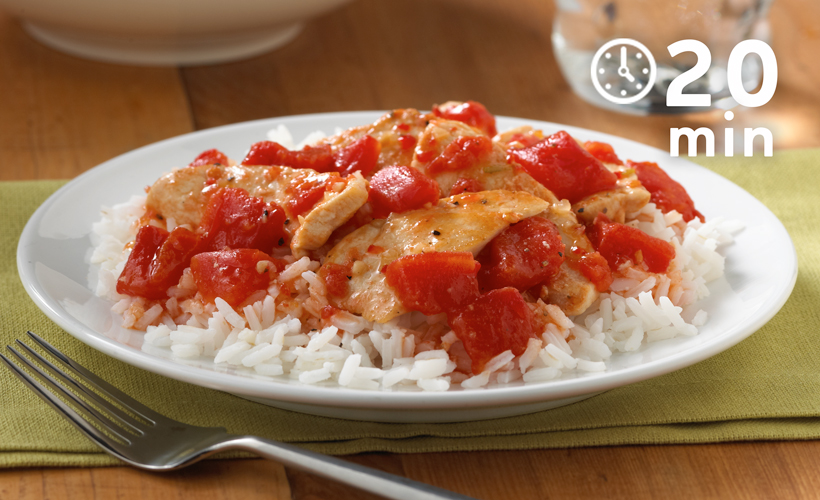 20-minute-chicken-and-rice-recipe