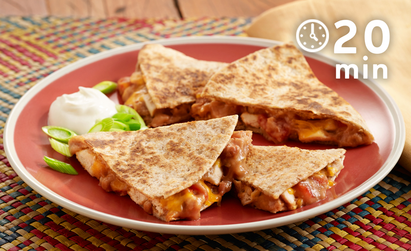 quick-chicken-and-refried-bean-recipe