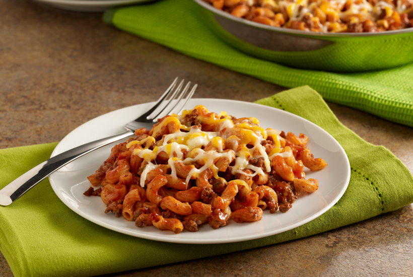 unique-sloppy-joe-macaroni-skillet-recipe