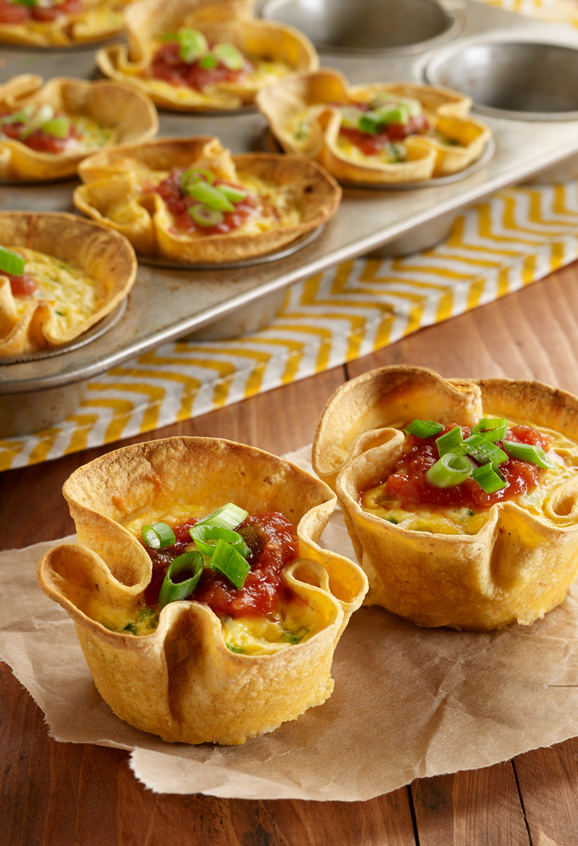 Make Ahead Mexican Egg Cups For Brunch