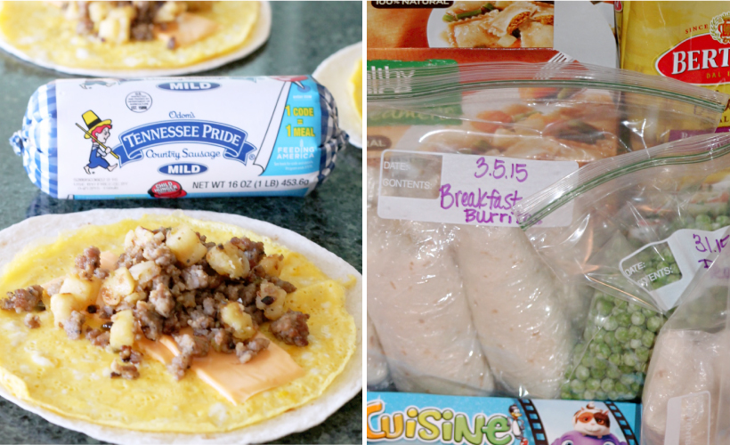 Make-Ahead Burritos for Breakfast