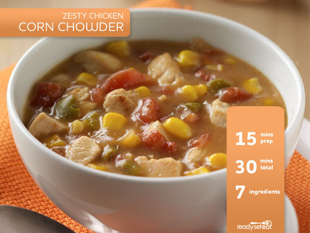 Zesty Chicken Corn Chowder Soup Recipe for Fall