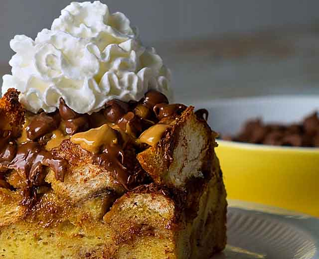 Elvis Style French Toast Casserole