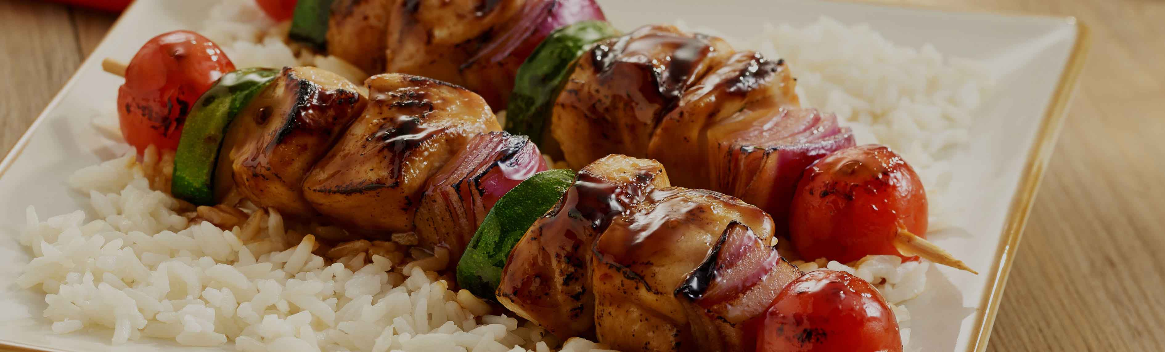 Grilled Chicken Kabobs