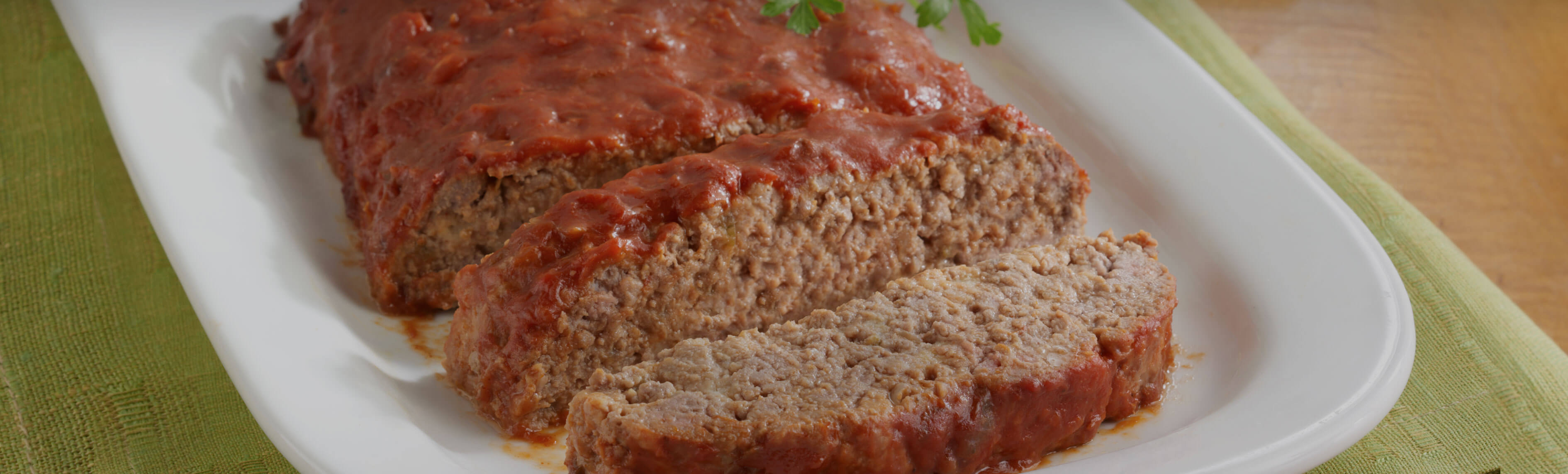 Saucy Meatloaf