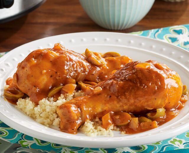 Slow Cooker Moroccan Chicken