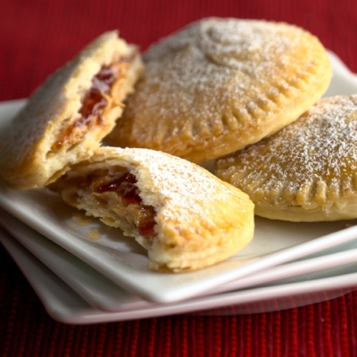 Mini Peanut Butter and Jelly Pies