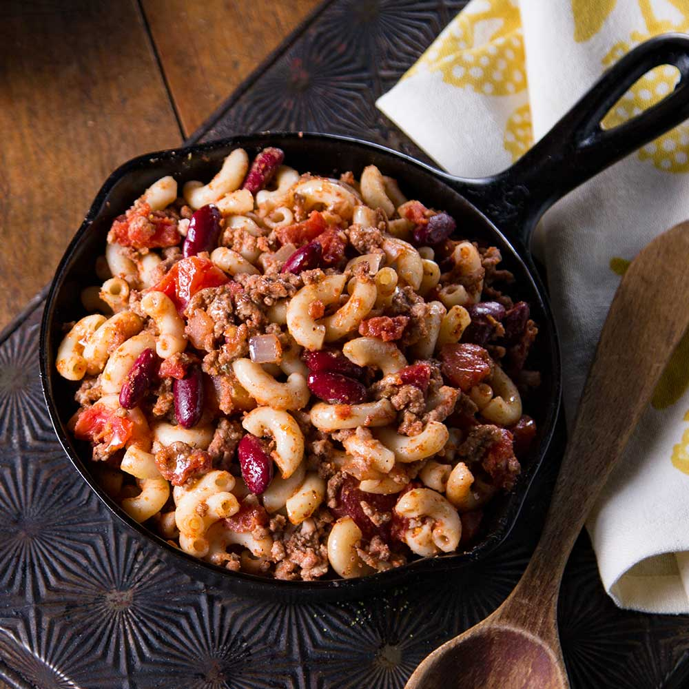 Hearty Chili Macaroni