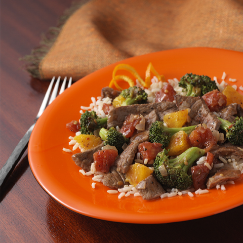 Jamaican Beef and Broccoli