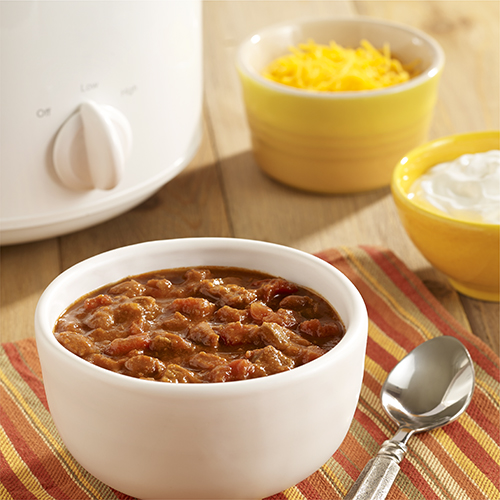 Spicy Beef And Bean Chili Ready Set Eat