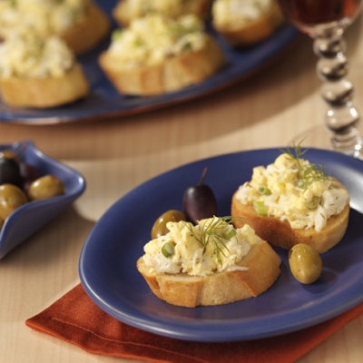 Crab and Egg Salad Spread