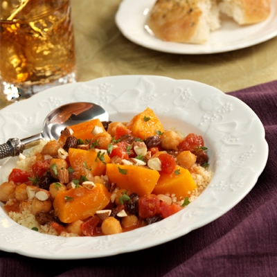 Chunky Butternut 'Stew' with Couscous