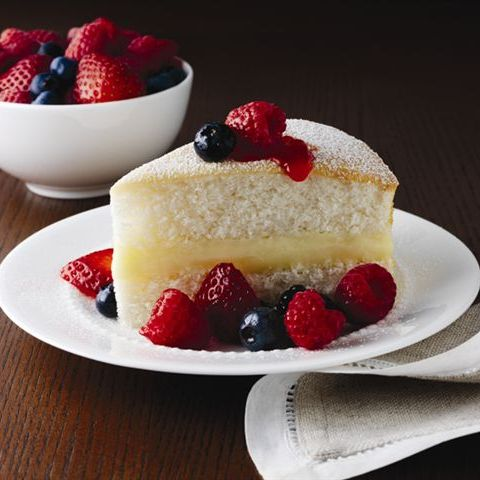 white cake with berries and cream ready set eat