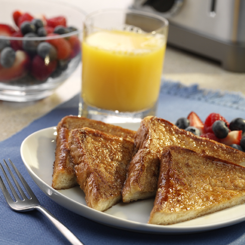 Caramelized Spiced French Toast