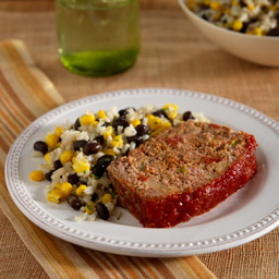 Spicy Meatloaf with Fiesta Rice