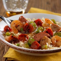 Slow-Cooked Jambalaya with Rice