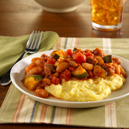 Polenta with Italian Vegetable Ragu