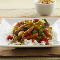 Thai-Style Chicken Stir-Fry