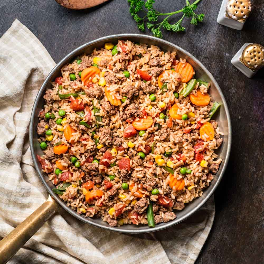 Beefy Rice Skillet Ready Set Eat