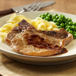 Honey-Mustard Pork Chops