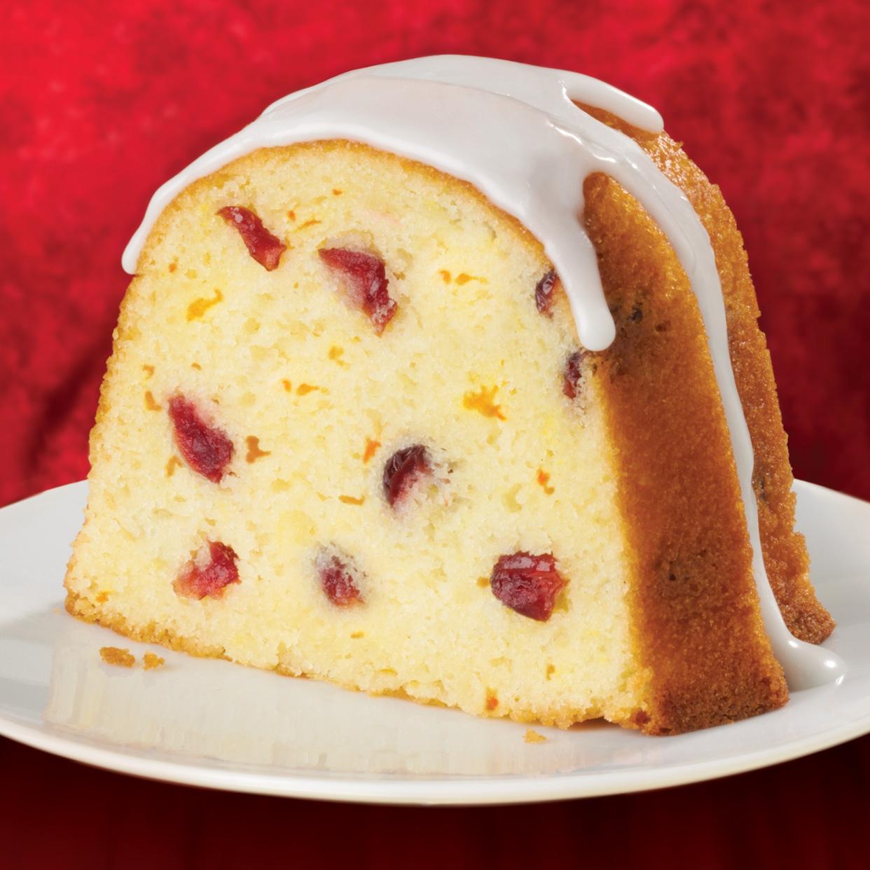 Recipe Cranberry Bundt Cake