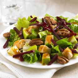 Chicken apple beet salad ready set eat - Ensaladas gourmet faciles ...