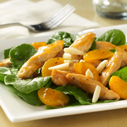 Orange-Spinach Salad with Chicken