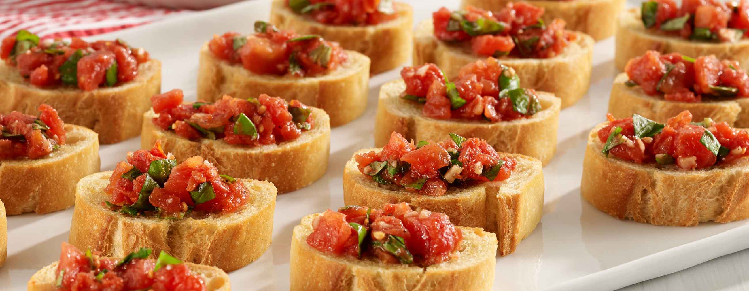 hunt 39 s easy tomato bruschetta ready set eat. Black Bedroom Furniture Sets. Home Design Ideas