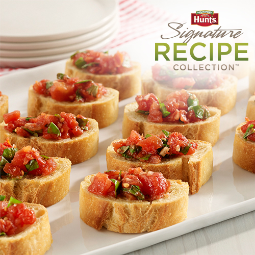 Hunt's® Easy Tomato Bruschetta