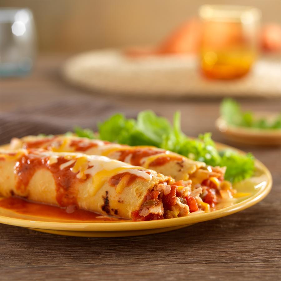 Spicy Chicken Enchiladas | Ready Set Eat