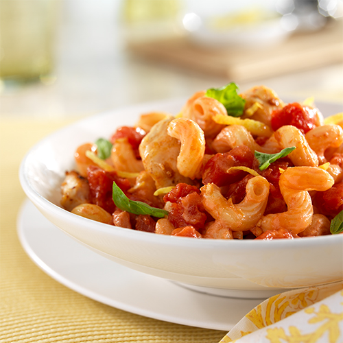 Lemon-Tomato Chicken Pasta