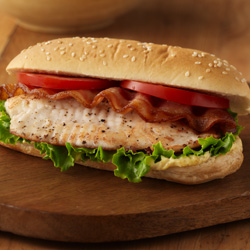 BLT Fish Sandwiches