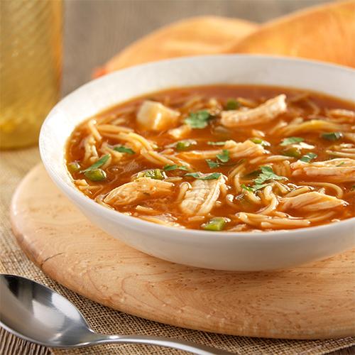 Sopa De Fideos Con Pollo Ready Set Eat