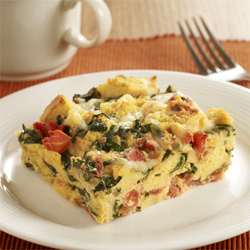 Strata Recipes florentine strata | ready set eat