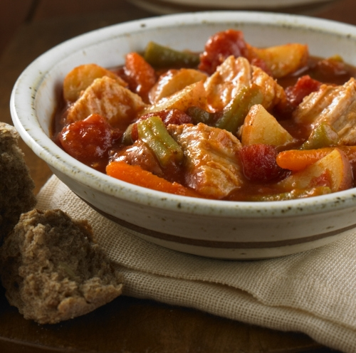 Slow Cooker Vegetable Pork Stew