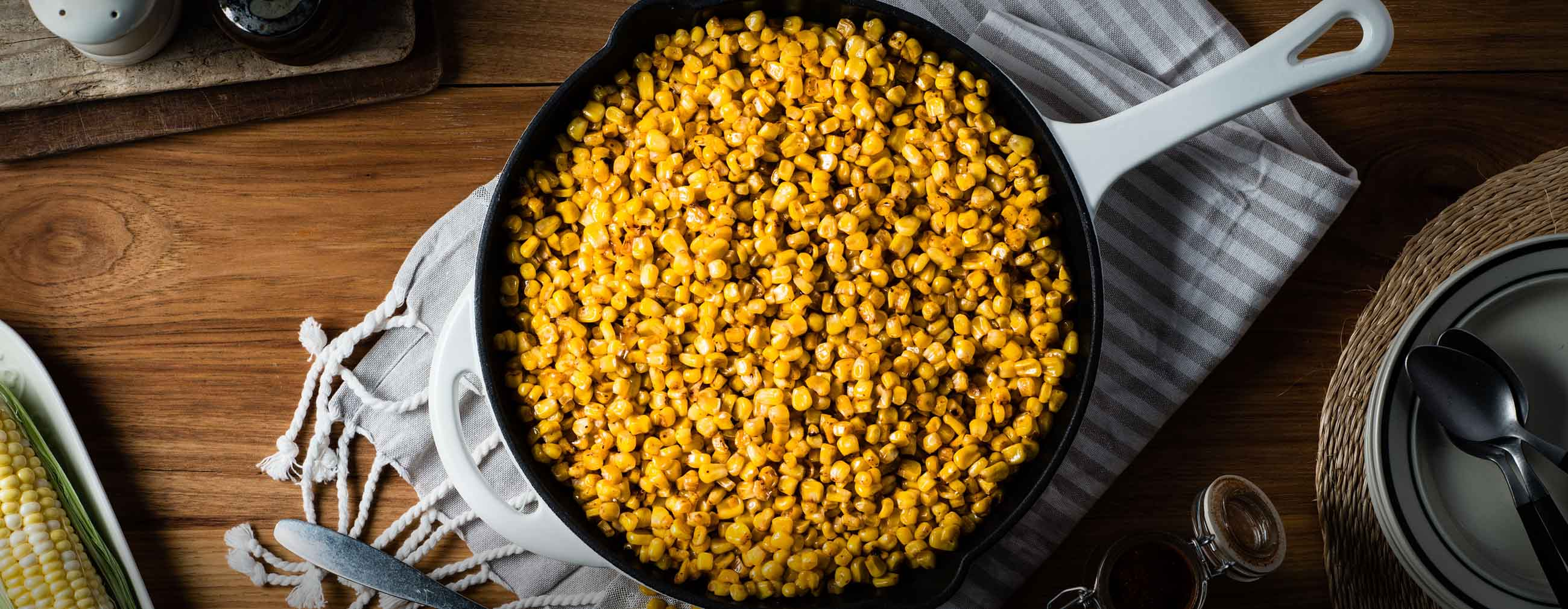 Pan Roasted Corn