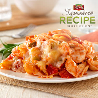 Hunt's® Cheesy Chicken and Pasta Casserole