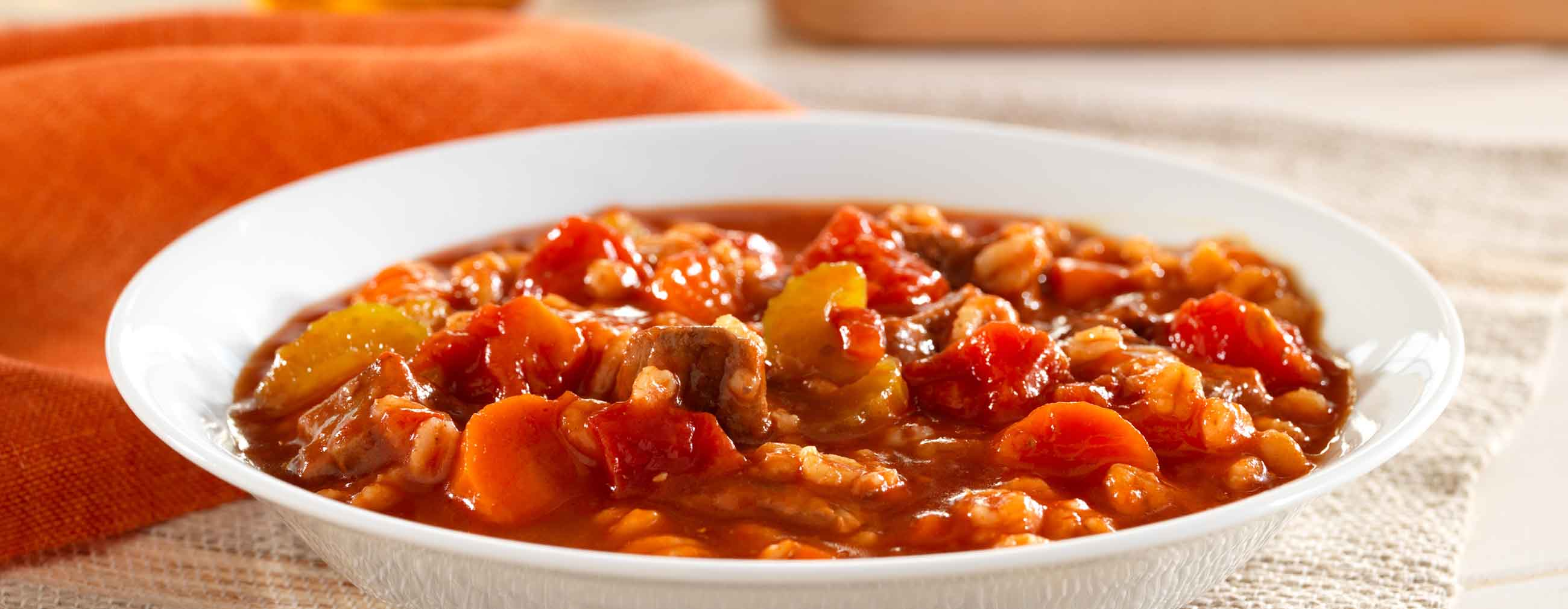Hunt's® Beef and Barley Stew
