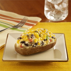 Tex-Mex Stuffed Potatoes