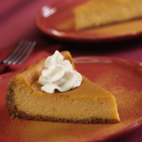 Cinnamon-Pumpkin Cheesecake