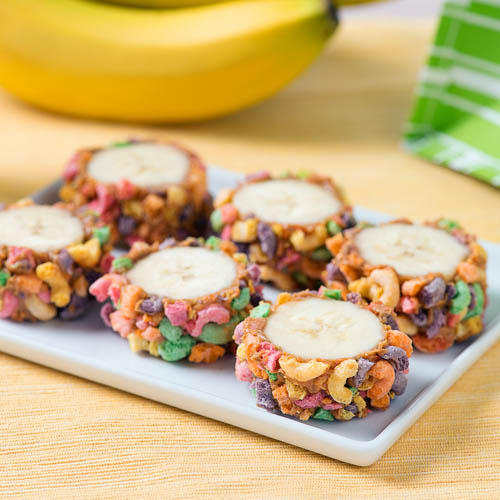 Peanut Butter and Banana Sushi